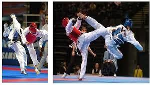 Taekwondo tournament.
