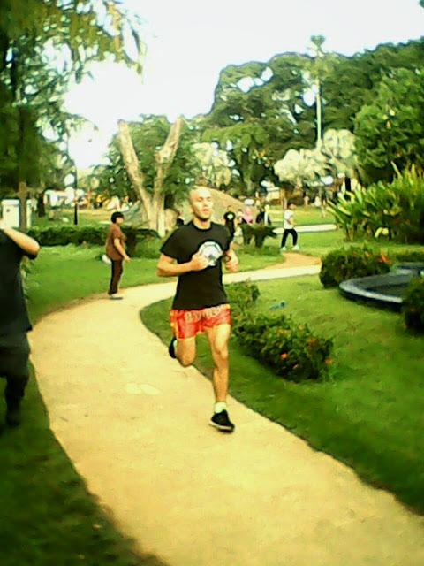 Training in Malaysia.