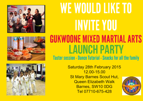 Gukwoone Launch Party Sat, Feb 28th!