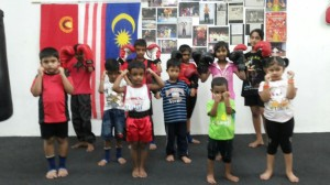 Students at the Malaysian class